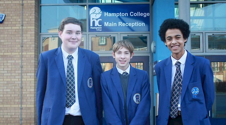 HAMPTON COLLEGE IN THE RUNNING TO WIN DRAGON'S NATIONWIDE ENTERPRISE COMPETITION