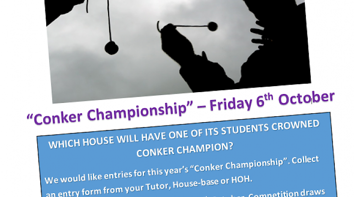 House Championship Conker Competition - Friday 6 October