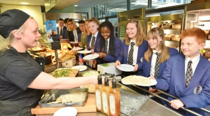 Gourmet Food Comes to the School Canteen