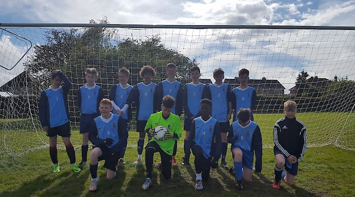 The Year 9 Football Team Success