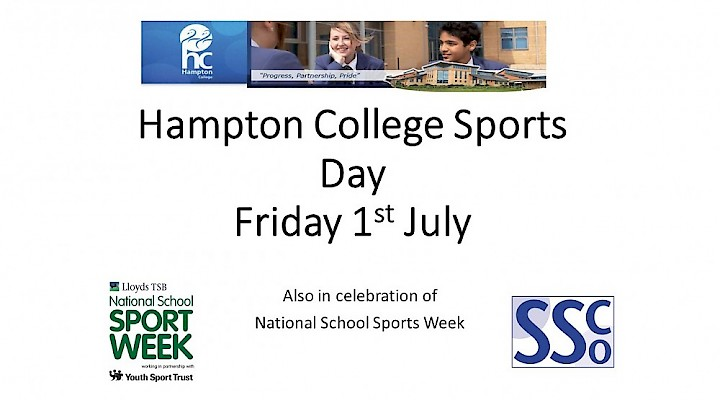 HC Sports Day - Friday 1 July