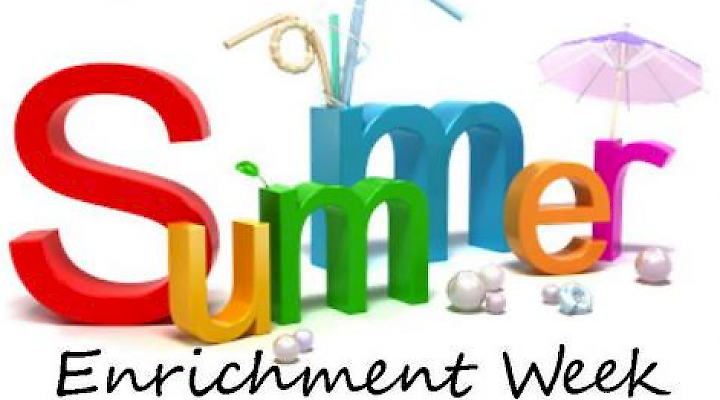 Enrichment Week - 17 - 20 July