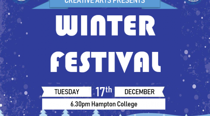 Winter Festival - 17th December 6.30pm