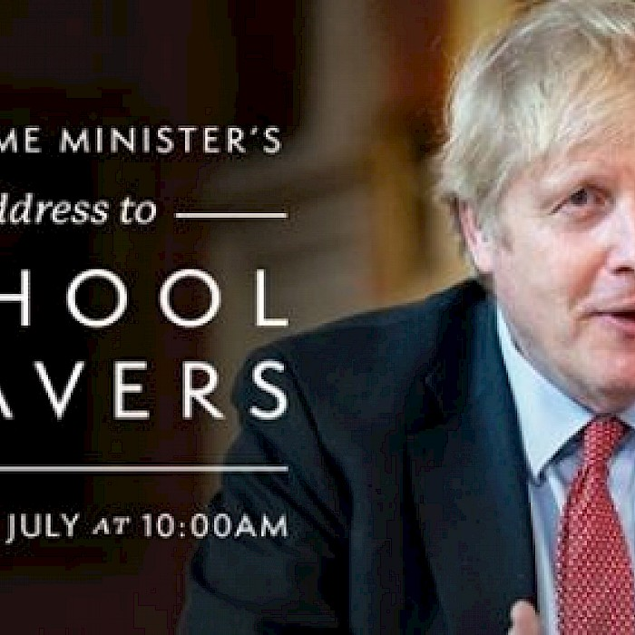 Prime Minister Video to Year 11 and 13 Leavers